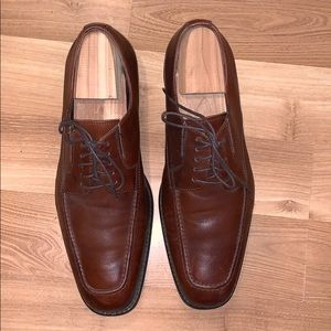 Johnston & Murphy waterproof brown leather size 11
